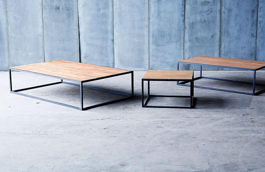 Tafel Coffee Table Salontafel Mesa II teak teck basics